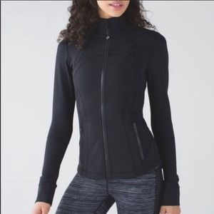 Lululemon Forme Black Zip Up Jacket